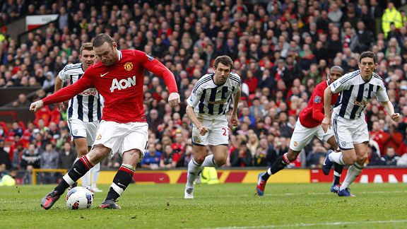 Wayne Rooney penalty