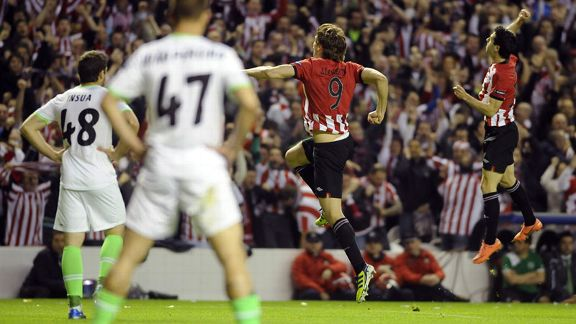 Athletic Bilbao first celeb v Sporting