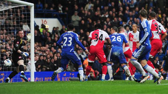 John Terry goal Chelsea v QPR 