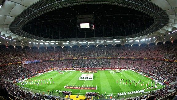 The National Arena in Bucharest, host venue of the 2012 Europa League final