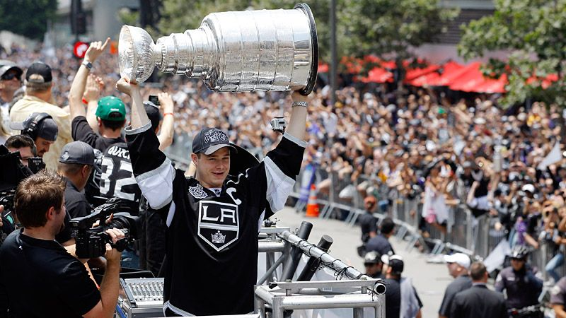 LA Kings Victory Parad