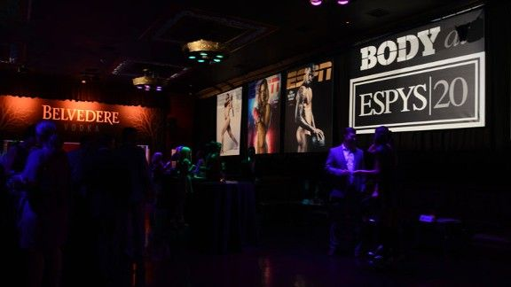 Belvedere at Body at ESPYS 20