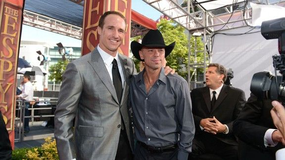 Drew Brees & Kenny Chesney