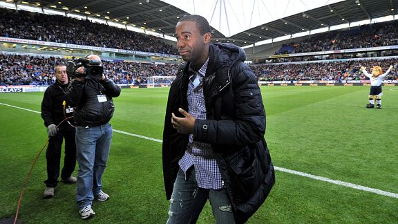 Fabrice Muamba returns