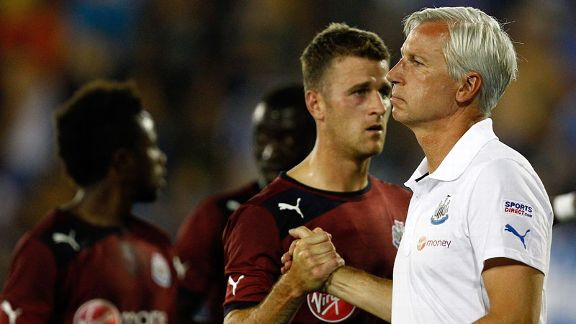 Ryan Taylor, Alan Pardew 