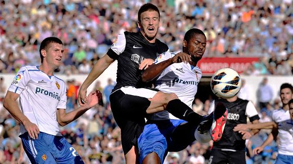 Ignacio Camacho scored the only goal of the game as Malaga beat Real Zaragoza
