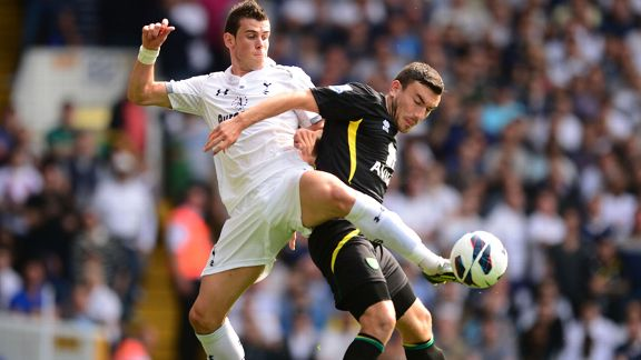 Gareth Bale and Robert Snodgrass