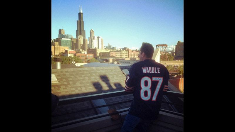 ESPN Chicago 2012 Traveling Waddle Jersey