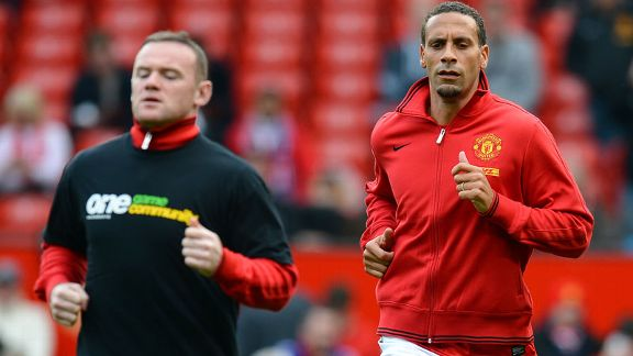 Rio Ferdinand did not wear the Kick It Out t-shirt prior to the clash with Stoke