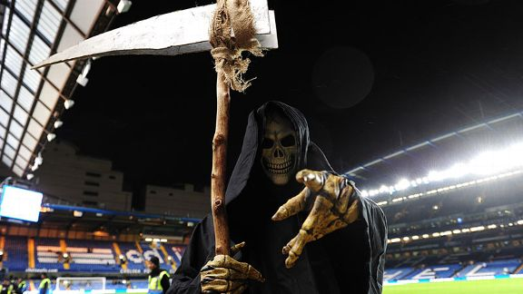 The Grim Reaper is at Stamford Bridge - for whom will the bell toll on Halloween?