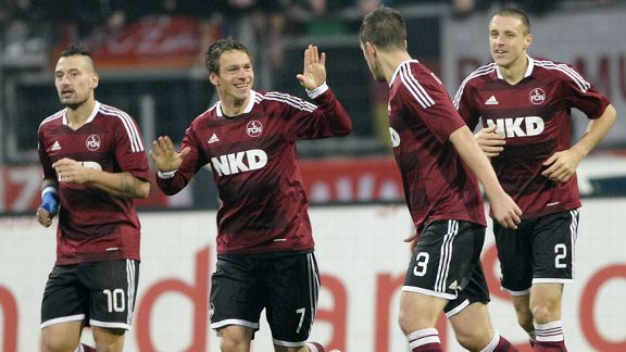 Markus Feulner celebrates