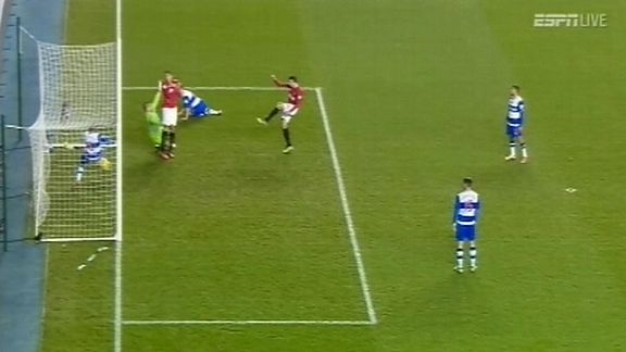 Robin van Persie's shot is clearly over the line