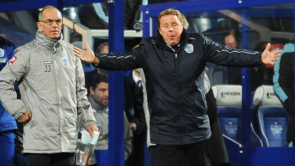 Harry Redknapp couldn't inspire QPR to their first win of the season against Villa