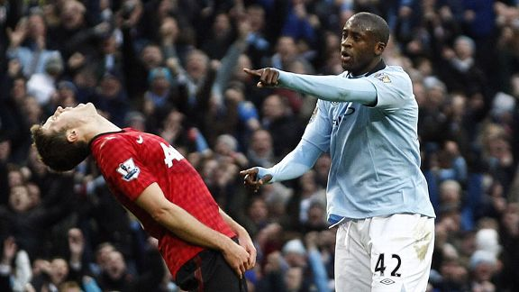 Michael Carrick, Yaya Toure