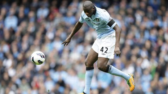 Yaya Toure scored for Man City as they got back to winning ways, beating Newcastle 3-1