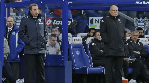 Harry Redknapp is unbeaten since taking over as QPR boss