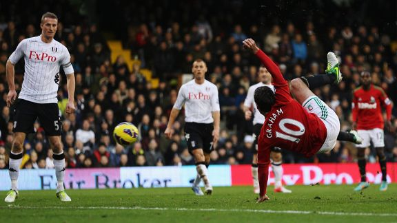 Danny Graham fires Swansea ahead at Fulham