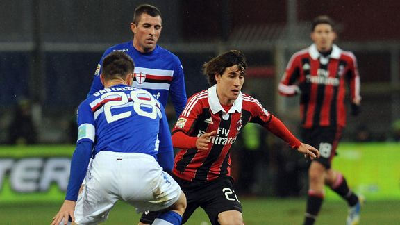 Krkic Bojan in action AC Milan
