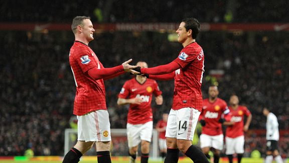 Wayne Rooney and Javier Hernandez were on the scoresheet for Man United in their dominant FA Cup victory over Fulham