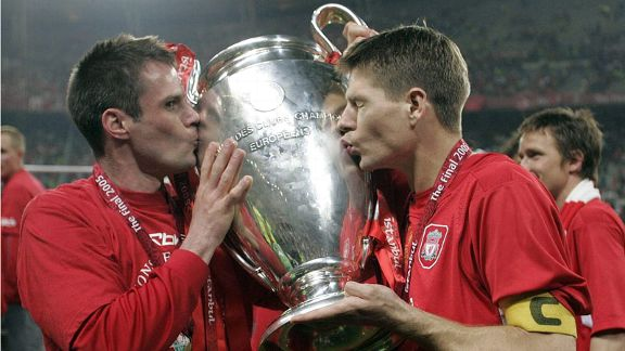 Jamie Carragher Champions League