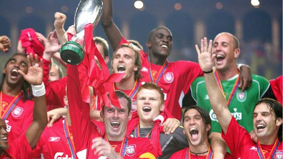 Jamie Carragher UEFA Super Cup