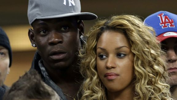 Mario Balotelli and girlfriend
