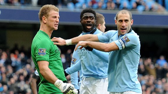 Joe Hart penalty save celeb