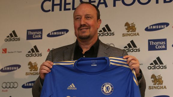 Rafael Benitez signs with Chelsea