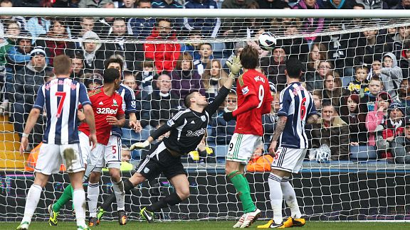 Luke Moore puts Swansea in front at West Brom