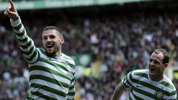 Gary Hooper Celtic celeb v Inverness