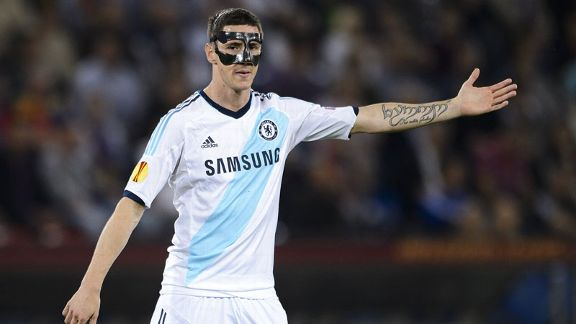 Fernando Torres mask FC Basel point