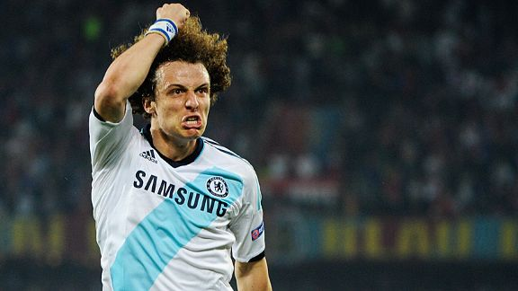 David Luiz scored with the last kick of the game to give Chelsea a 2-1 win at Basel