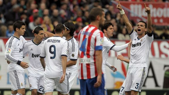 Real Madrid celeb v Atletico group