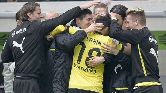 Dortmund celeb Sahin group
