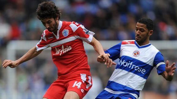 Jobi McAnuff Esteban Granero Reading QPR battle