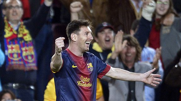 Lionel Messi scored twice in a 34-minute substitute appearance in Barcelona's 4-2 win over Real Betis