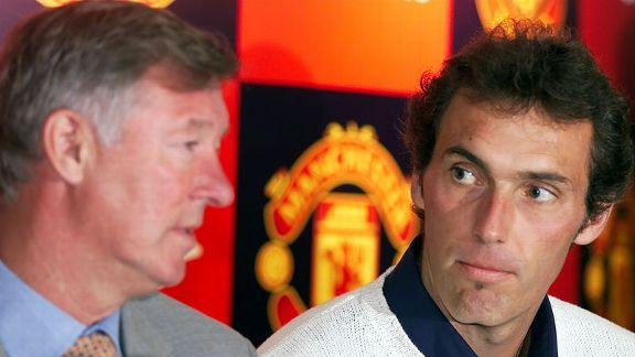 Sir Alex Ferguson, Laurent Blanc