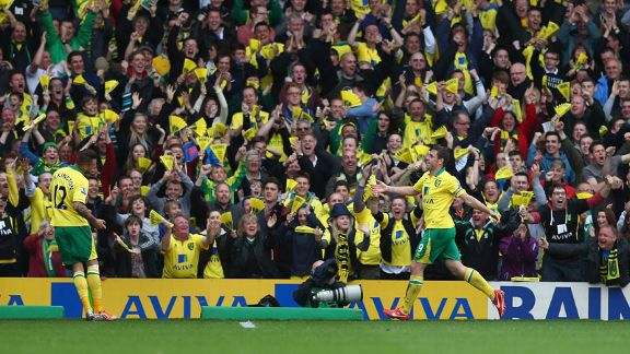 Grant Holt was on target for Norwich during a 4-0 win against West Brom