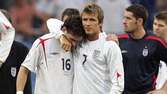 David Beckham stepped down as England captain after the 2006 World Cup disappointment, and then for a time found himself surplus given the requirements of manager Steve McClaren
