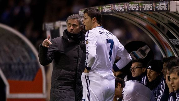 Reports suggest Jose Mourinho would like to take Cristiano Ronaldo with him to Chelsea