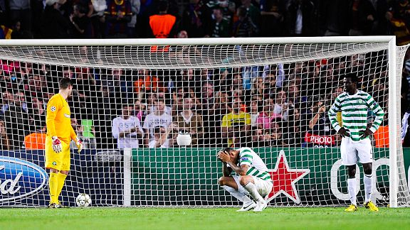 Celtic came so, so close to a famous point in Barcelona's Camp Nou until Jordi Alba scored in the 94th minute