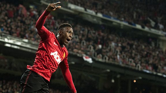 Danny Welbeck produced his finest performance of the season and scored in Man United's 1-1 draw at Real Madrid