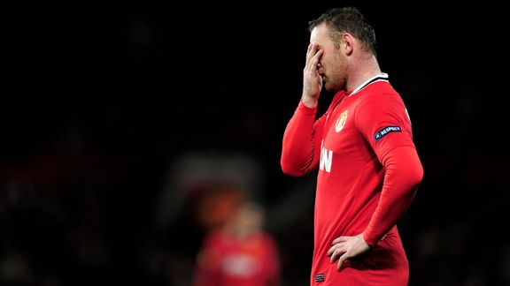 Rooney can't bear to look as United sink to defeat