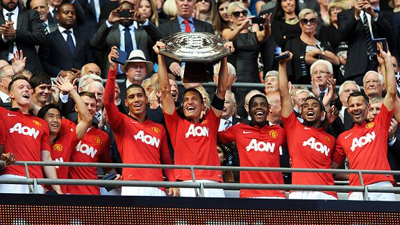 Manchester United lift Community Shield