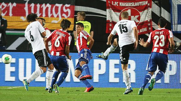 Lars Bender rescues Germany from defeat at home to Paraguay