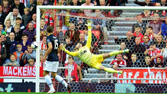 David de Gea save Sunderland