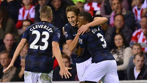 Adnan Januzaj group celeb second goal