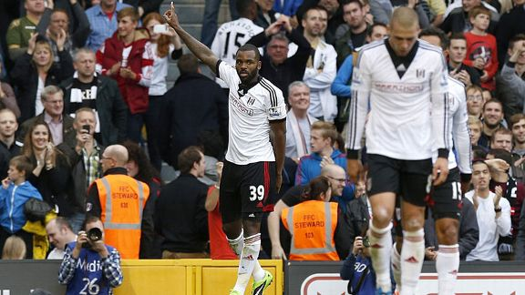 Darren Bent scored as Fulham edged out Stoke at Craven Cottage.