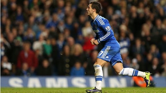 Eden Hazard Chelsea celeb vs West brom
