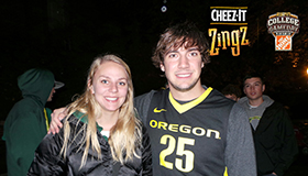 AmaZingz Fanzone - UCLA vs Oregon